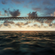 Bridge View Over the Sea