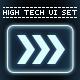 High Tech UI Set - GraphicRiver Item for Sale
