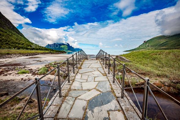 Beautiful Nature Norway. - Stock Photo - Images