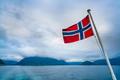 Norway flag Nature Norway