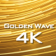 Golden Wave - VideoHive Item for Sale