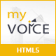My Voice – An All-in-One Template for Speakers and Life Coaches! - ThemeForest Item for Sale