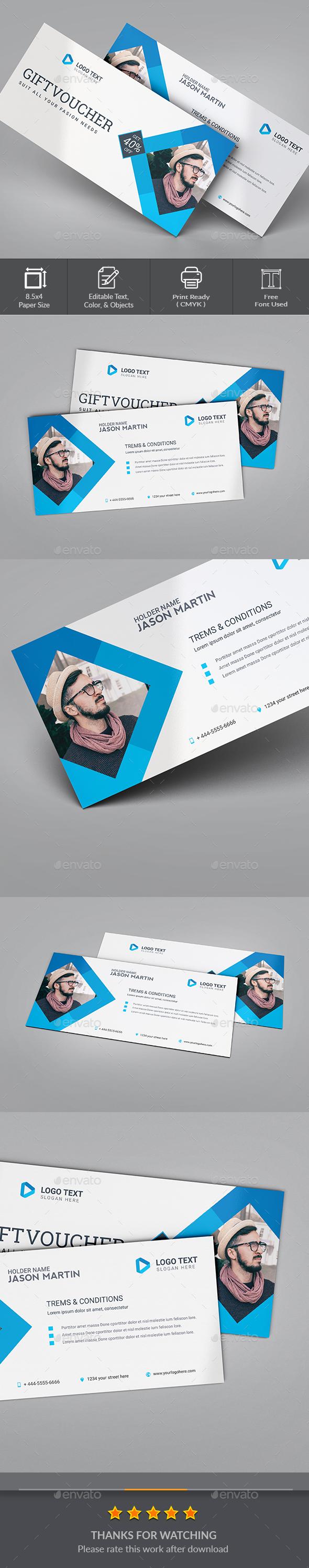 GraphicRiver Gift Voucher 20568095