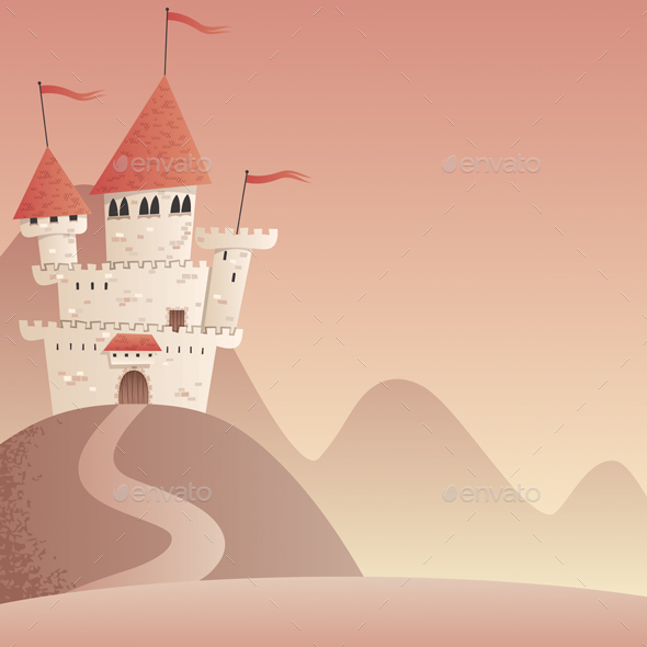 GraphicRiver Castle Landscape 2 20568228
