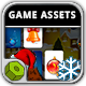 Christmas Memory - Game Assets - GraphicRiver Item for Sale