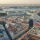 Flying Above Center of St. Petersburg - VideoHive Item for Sale
