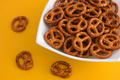 Salted Mini Pretzels Heap - PhotoDune Item for Sale