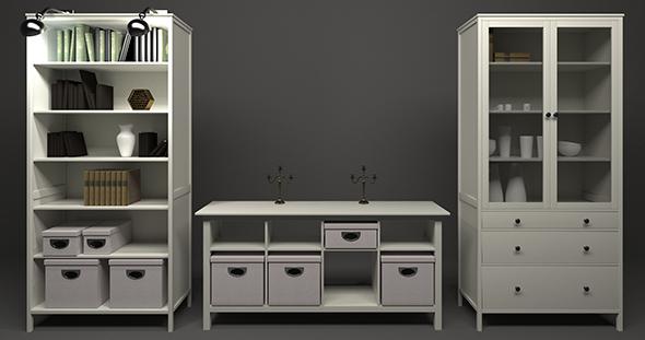 Hemnes Cases - 3DOcean Item for Sale
