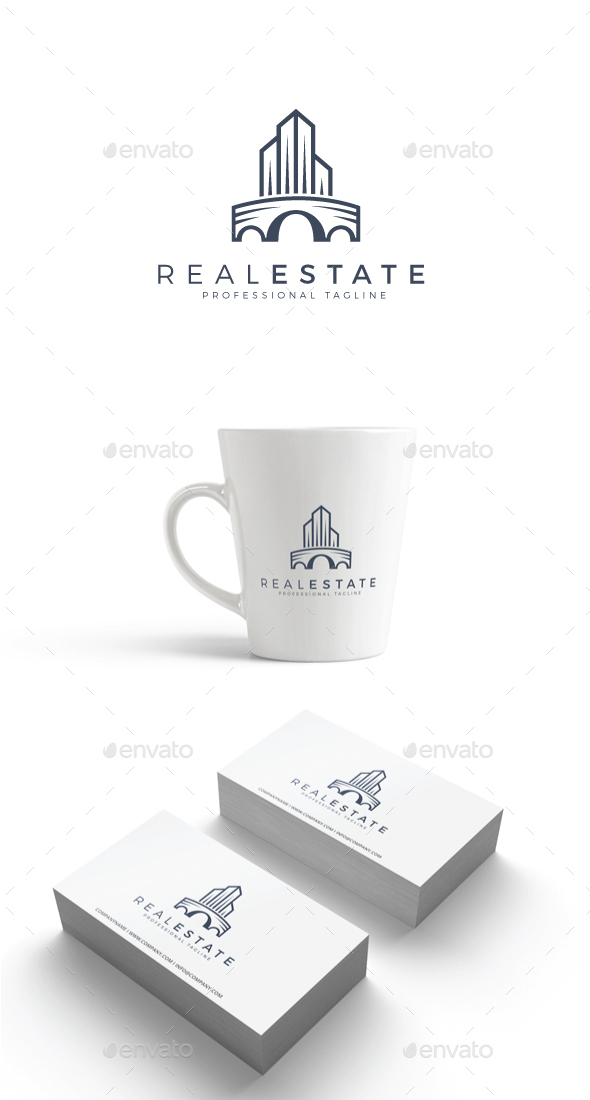 GraphicRiver Real Estate Logo 20568868