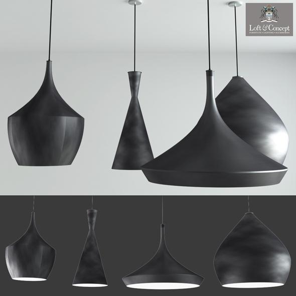 Beat Light DESIGNED BY TOM DIXON lighting loft concept interior - 3DOcean Item for Sale