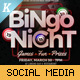 Bingo Night Social Media Banner Pack - GraphicRiver Item for Sale