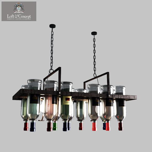 3DOcean Bottle Bar Rectangle 80 20569109