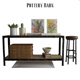 Pottery Barn Clint Reclaimed Wood Console Table - 3DOcean Item for Sale