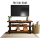 Pottery Barn Griffin Reclaimed Wood Media Console - 3DOcean Item for Sale