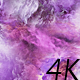 Abstract Purple-Pink Nebulae in Space