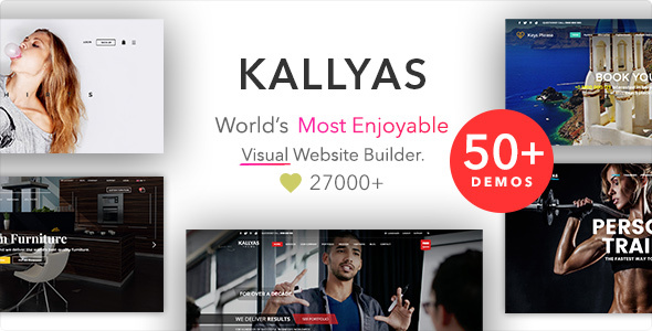 Image of KALLYAS - Creative eCommerce Multi-Purpose WordPress Theme
