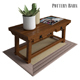 Pottery Barn Monroe Console Table