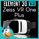 Zeiss VR One Plus for Element 3D