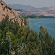 Drone trees, Mountains and the Sea of Galilee - VideoHive Item for Sale
