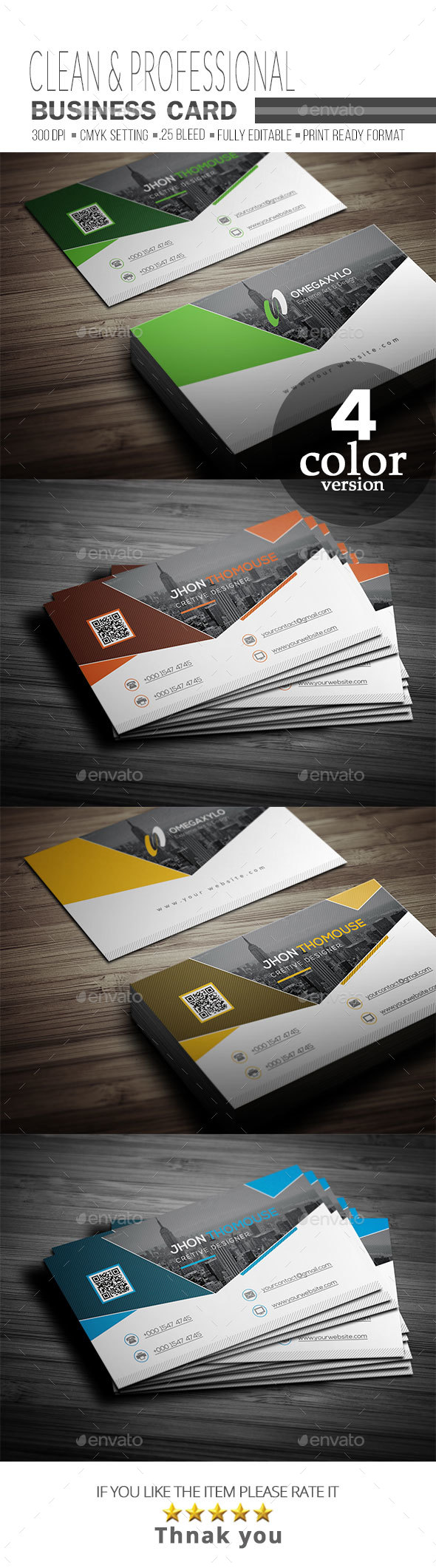 GraphicRiver Business Card 20569540