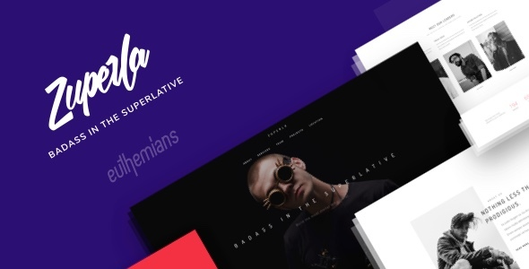 Zuperla - Creative Multi-Purpose WordPress Theme