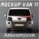 Van Mockup - GraphicRiver Item for Sale