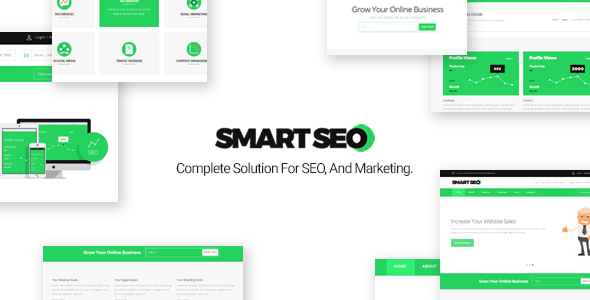 SmartSEO || SEO/Marketing HTML Responsive Template