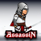 The Light Assassin Game Character Sprites - GraphicRiver Item for Sale