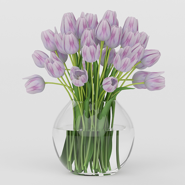 Vray Ready Flower Pot - 3DOcean Item for Sale