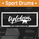 Dynamic Sport Drums Beat
