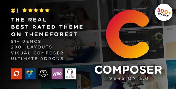 Composer - Responsive Multi-Purpose High-Performance WordPress Theme - Business Corporate
