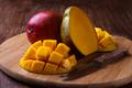 ripe organic mango