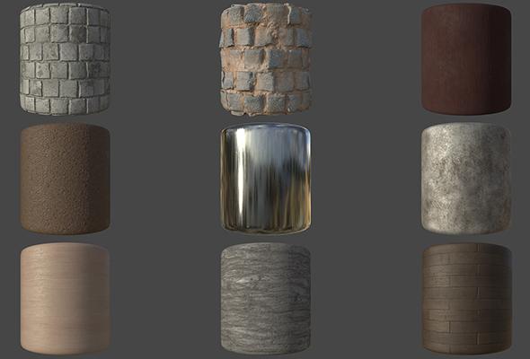 3DOcean Substance Materials Materials Pack Vol 1 20571601
