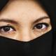 Arabic muslim woman portrait studio shoot - PhotoDune Item for Sale