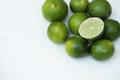 Closeup of fresh lime