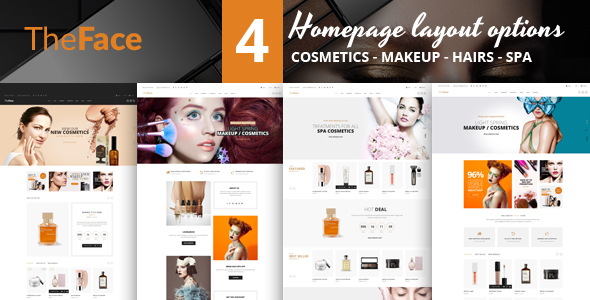 Image of Theface - Magento Theme for Beauty & Cosmetics Store