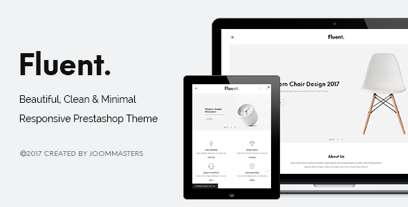 JMS Fluent - Creative Multi-purpose Prestashop Theme