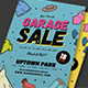 Retro Style Garage Sale Flyer - GraphicRiver Item for Sale