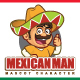 Mexican Man Mascot Character - GraphicRiver Item for Sale