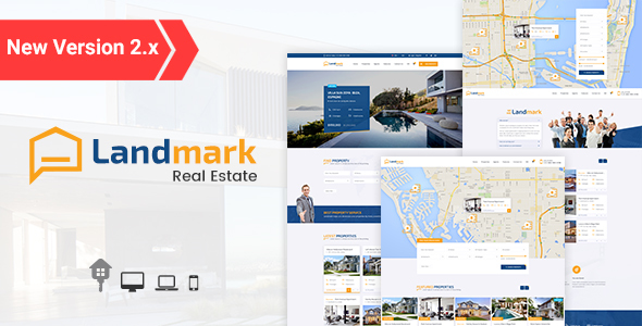Landmark - Real Estate WordPress Theme