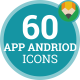 App Andriod Technology Animation - Flat Icons and Elements - VideoHive Item for Sale