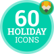 Summer Vacation Holiday Travel Animation - Flat Icons and Elements
