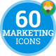Marketing Business Strategy Organization Animation - Flat Icons and Elements