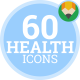 Health Medical Laboratory Medicine Animation - Flat Icons and Elements