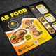 Restaurant Food Menu Flyers-Graphicriver中文最全的素材分享平台