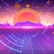 Retro Wave 80s Graphics Pack - VideoHive Item for Sale