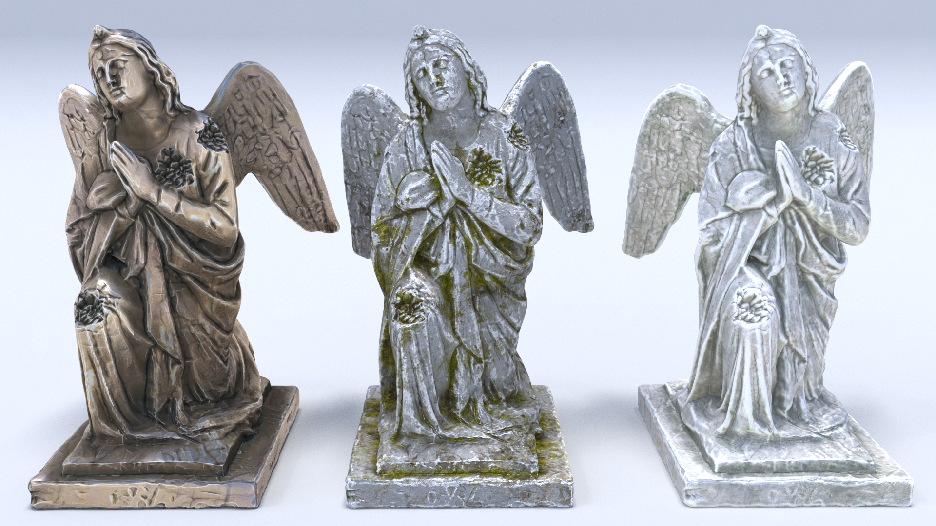 Sculptures Pack Vol.1 Statue 1