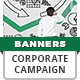 Corporation Banner Ad Templates - HTML5 Animated GWD