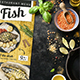 Fish Menu - GraphicRiver Item for Sale