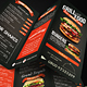 Grill BBQ Trifold Food Menu - GraphicRiver Item for Sale